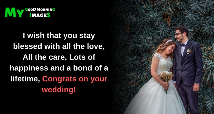 God Bless Your Marriage Message For Friends