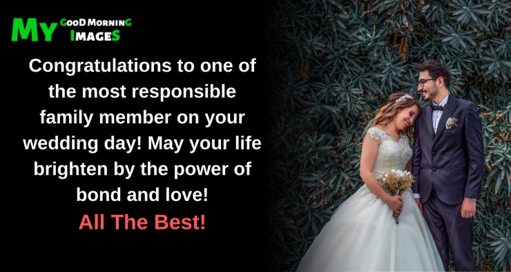 May God Continue To Bless Your Marriage From Family