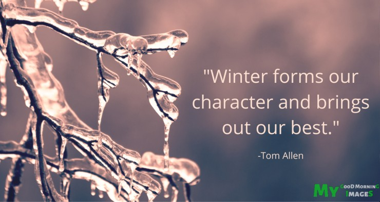 Good Morning Winter Images With Quotes
