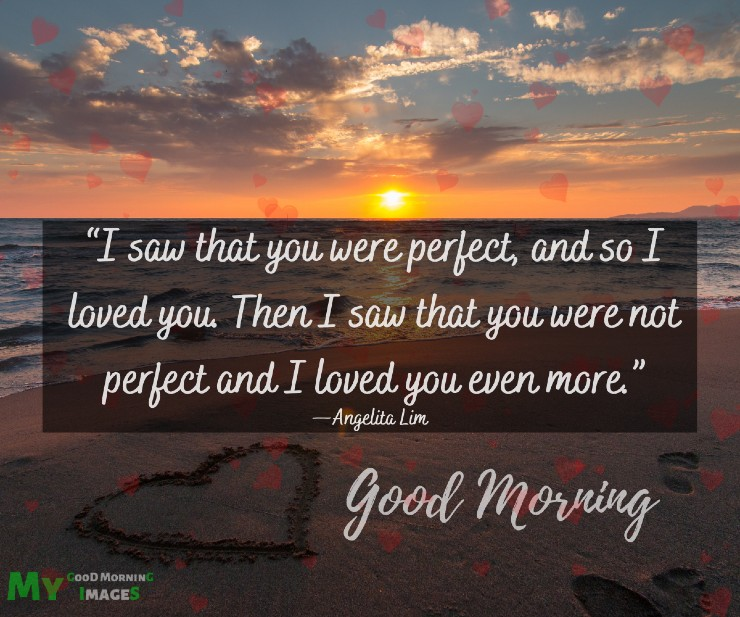 Good Morning Image With Heart