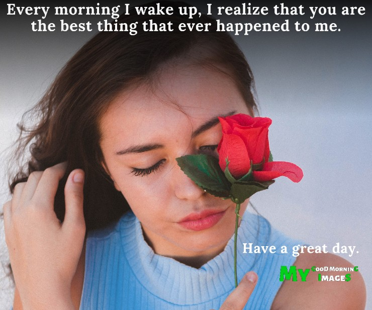 Good Morning Romantic Rose Images