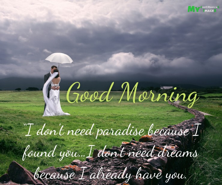 Good Morning Couple Images With Quotes