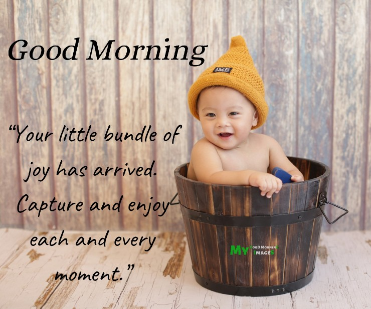 Good Morning Baby Boy Images