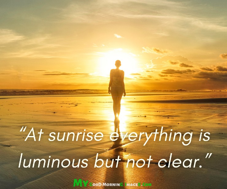 Good Morning Sunrise Images With Quotes