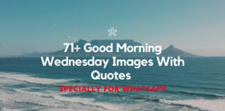 71+ Good Morning Wednesday Images With Quotes For WhatsApp