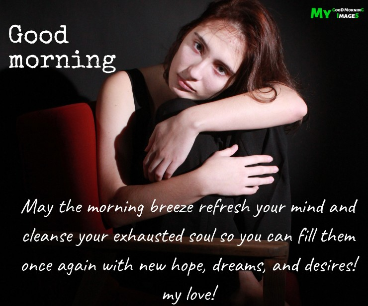 Romantic Good Morning My Love Images For WhatsApp