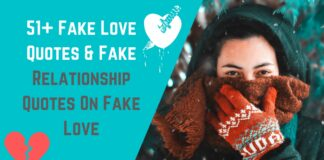 51+ Fake Love Quotes & Fake Relationship Quotes On Fake Love