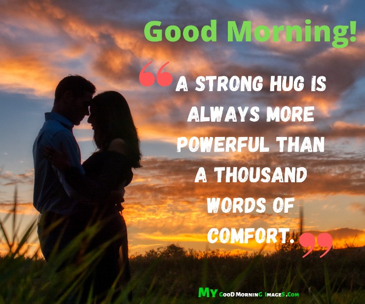 Good Morning Hug Images With Quotes