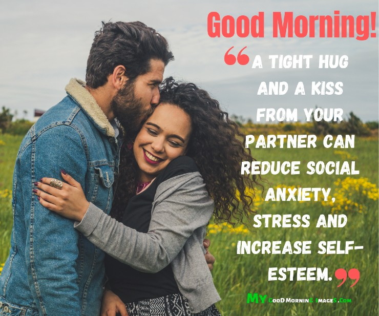 Good Morning Hugs And Kisses CoupleImages