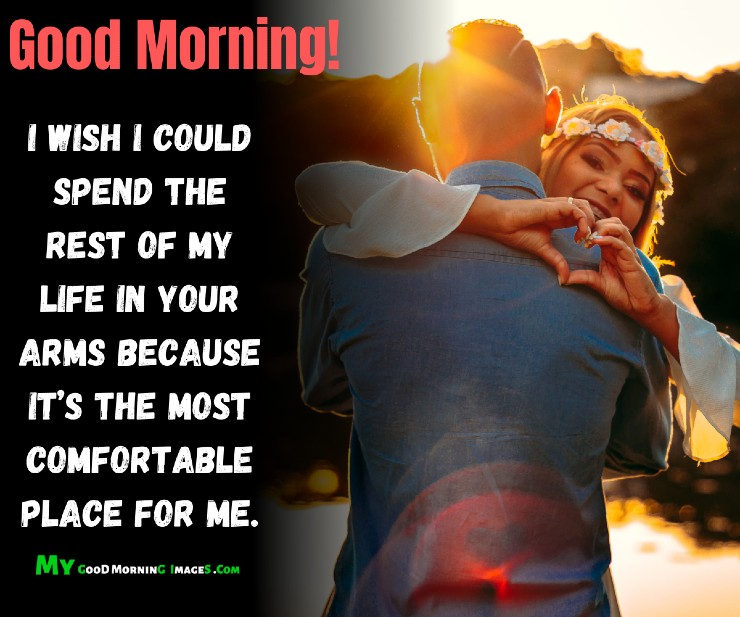 Good Morning Hug Images For Lover With Quotes